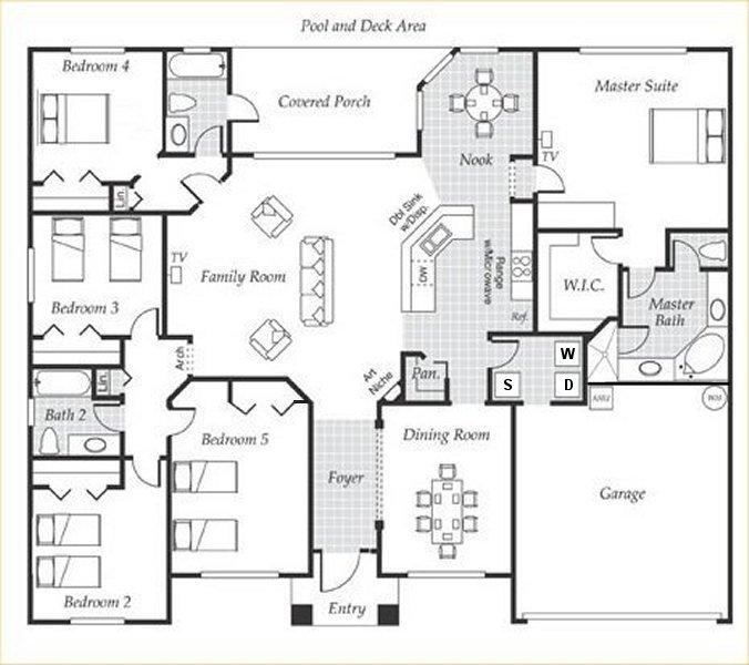Emerald + 3 Floorplan