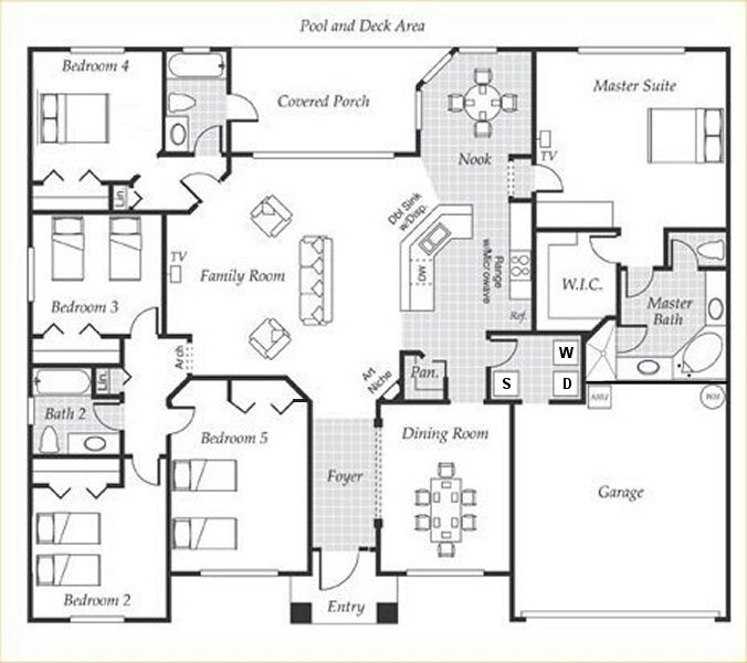 Emerald + 3 Floorplan