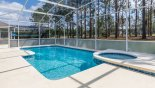 Villa rentals near Disney direct with owner, check out the Hedges & privacy screening add to the privacy of the pool deck