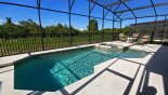 Villa rentals in Orlando, check out the View of pool & spa with conservation views