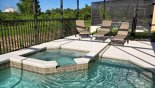Villa rentals near Disney direct with owner, check out the Pool deck with 4 sun loungers (1 in lanai)