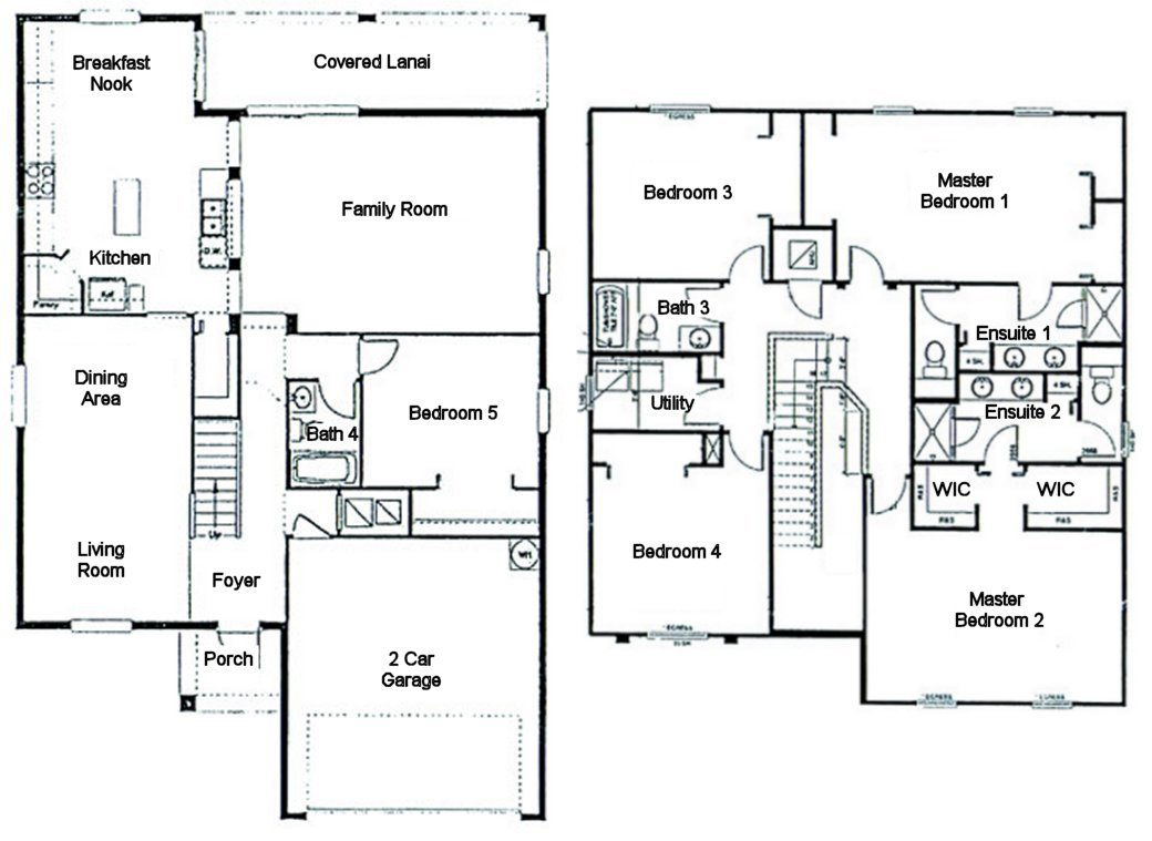 Buckingham 1 Floorplan