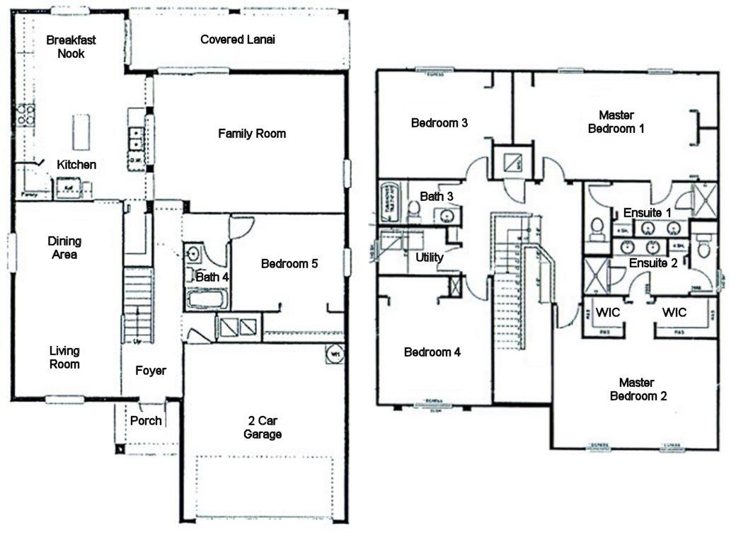 Buckingham 1 Floorplan