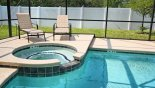 Relax in the inviting spa after a long day at the parks - www.iwantavilla.com is the best in Orlando vacation Villa rentals