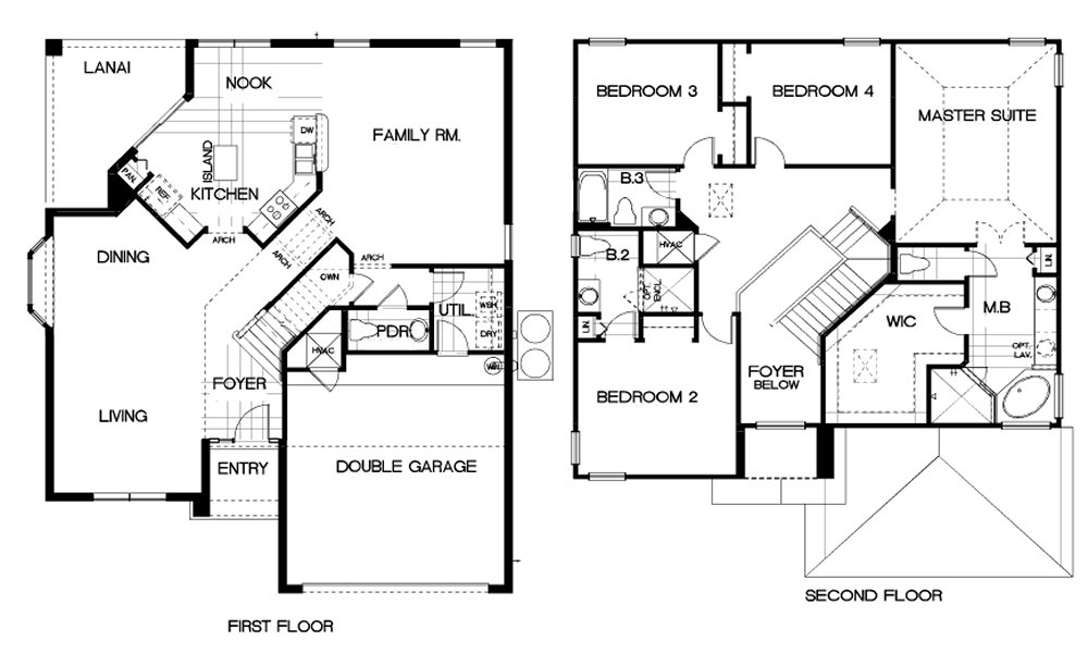Ocean Palm 1 Floorplan