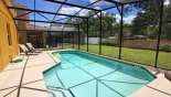 Spacious rental Veranda Palms Villa in Orlando complete with stunning Large 30' west facing pool with 4 sun loungers