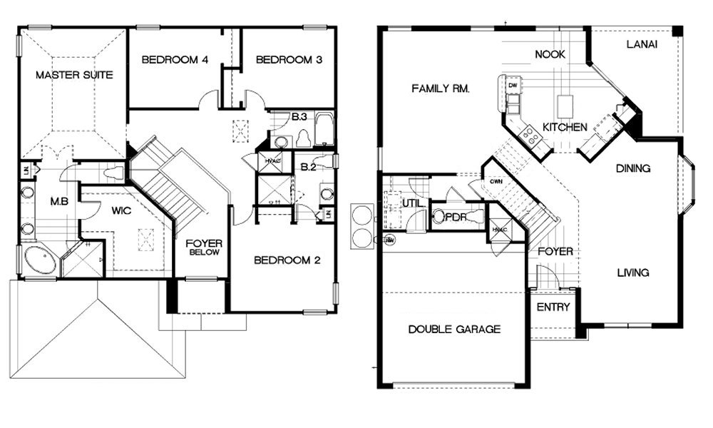 Ocean Palm 2 Floorplan