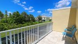 Spacious rental Serenity / Retreat Silver Creek Townhouse in Orlando complete with stunning Private balcony to master bedroom