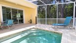 Pleasant conservation views to all open sides of pool deck with this Orlando Townhouse for rent direct from owner