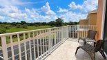 Eliora 5 Townhouse rental near Disney with Private balcony off master bedroom with open country views