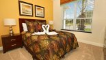 Downstairs queen bedroom from Serenity / Retreat Silver Creek rental Townhouse direct from owner