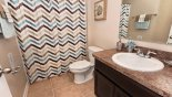 Bathroom 4 with bath & shower over from Bimini 2 Villa for rent in Orlando