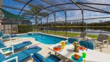 What a view of the lake - www.iwantavilla.com is your first choice of Villa rentals in Orlando direct with owner