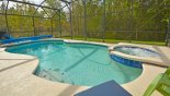 Orlando Villa for rent direct from owner, check out the Large sunny south west facing pool & spa