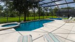 Orlando Villa for rent direct from owner, check out the South east facing pool & spa with pond views