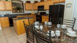 Spacious rental Emerald Island Resort Villa in Orlando complete with stunning Fully fitted kitchen and breakfast nook seating 6