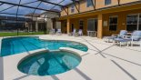 Orlando Villa for rent direct from owner, check out the Shady lanai gives shelter from sun when needed