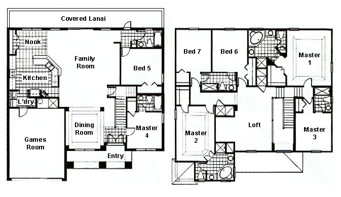 Grand Harbour 1 Floorplan