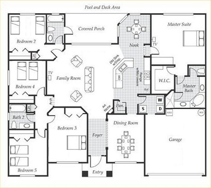 Emerald + 1 Floorplan
