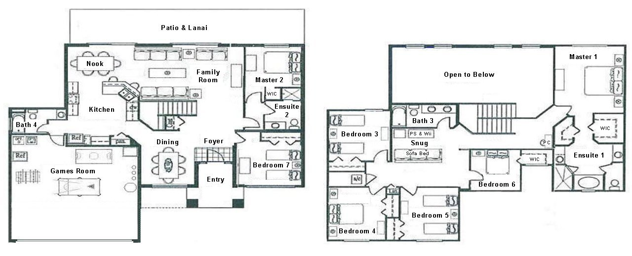 Longboat Key 1 Floorplan