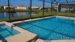 Orlando Villa for rent direct from owner, check out the Pool & spa with lake views