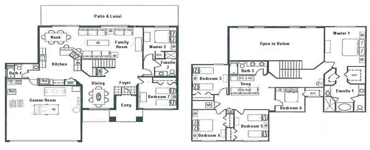 Longboat Key 3 Floorplan