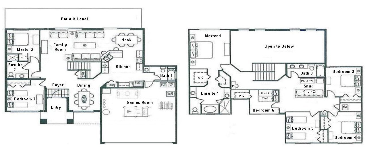 Longboat Key 4 Floorplan