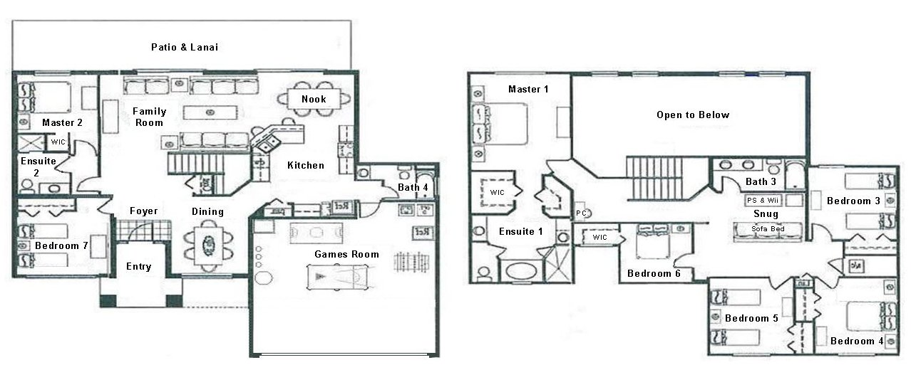 Longboat Key 5 Floorplan