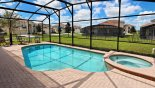 West facing pool & spa - www.iwantavilla.com is your first choice of Villa rentals in Orlando direct with owner