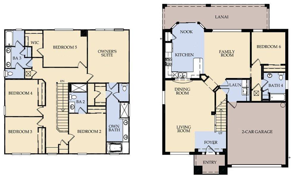 Brentwood 7 Floorplan
