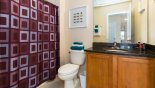 Spacious rental Encantada Townhouse in Orlando complete with stunning Family bathroom 3
