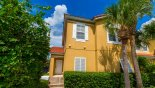 Spacious rental Encantada Townhouse in Orlando complete with stunning View of home from street