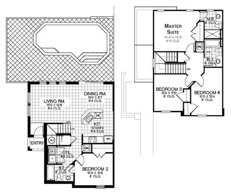 Tall Palms 1 Floorplan