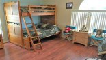Primera 1 Villa rental near Disney with Upstairs bedroom 5 with bunk bed (twin over full size)