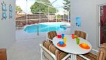 Villa rentals in Orlando, check out the Very private covered lanai