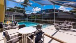 Private west facing pool deck gets the sun all day - www.iwantavilla.com is your first choice of Villa rentals in Orlando direct with owner