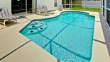 Villa rentals near Disney direct with owner, check out the Large west facing pool with 4 sun loungers