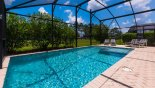 Large pool & spa with open views from Luja 1 Villa for rent in Orlando