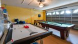 Luja 1 Villa rental near Disney with Games room with air hockey, pool table, table foosball & electronic darts