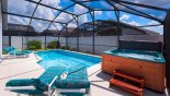 Contenta 1 Villa rental near Disney with Pool with Jacuzzi hot tub & 4 sun loungers
