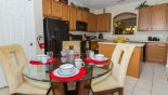 Spacious rental Watersong Resort Villa in Orlando complete with stunning Breakfast nook and fully fitted kitchen