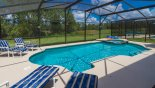 Spacious rental Watersong Resort Villa in Orlando complete with stunning Sunny pool deck with conservation views