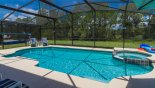 Queen Palm 3 Villa rental near Disney with The large pool & spa are perfect to enjoy the Florida sunshine