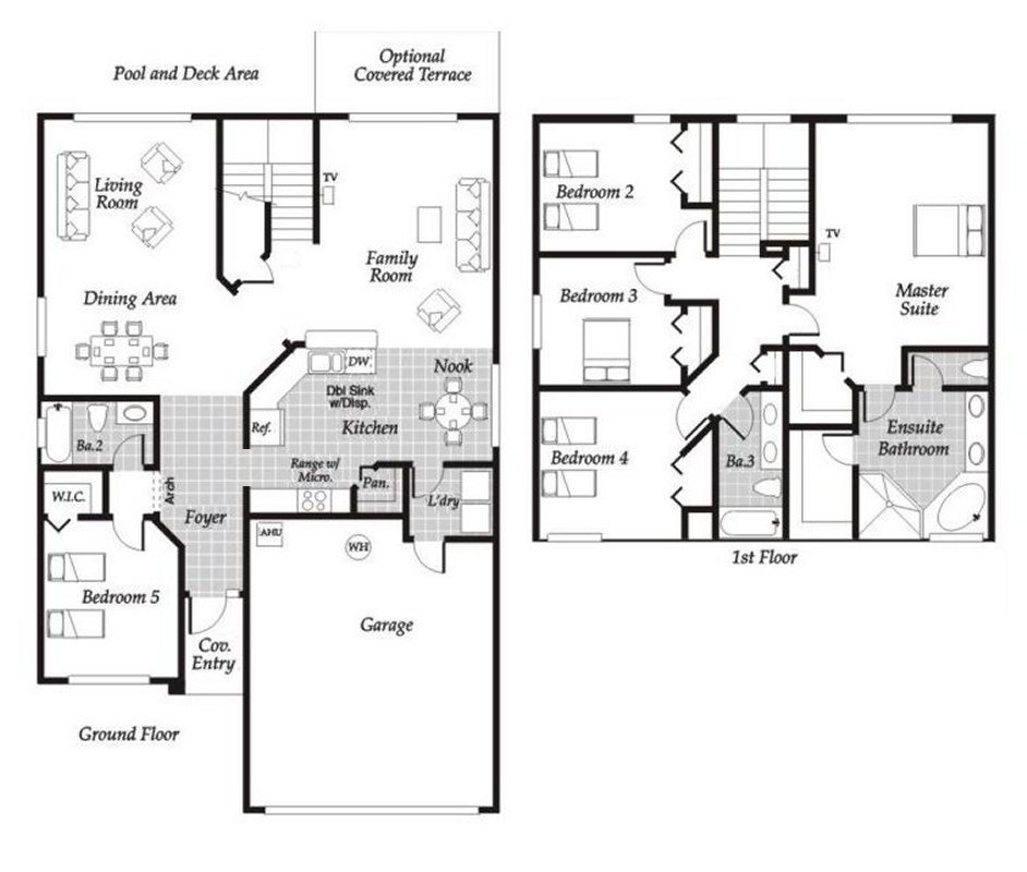 Monticello 6 Floorplan