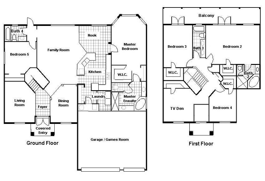 Santa Maria 2 Floorplan