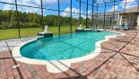 Palm Beach 1 Villa rental near Disney with Large south west facing infinity pool with conservation views