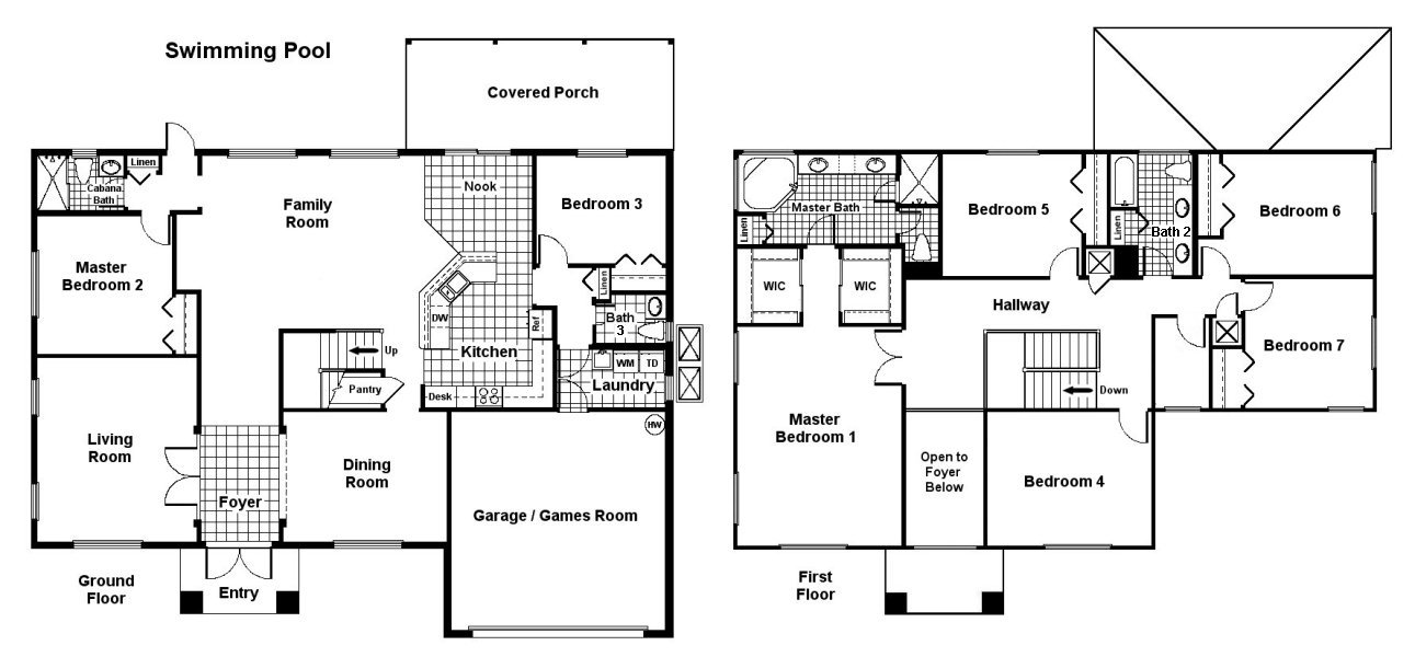 Palm Beach 1 Floorplan
