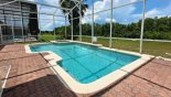 South west facing pool & spa with conservation views from Highlands Reserve rental Villa direct from owner