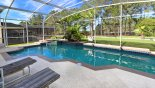 Villa rentals near Disney direct with owner, check out the View of south west facing pool & spa taken in the morning