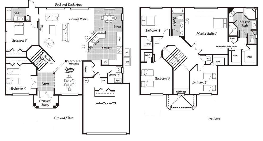 Santa Barbara 4 Floorplan